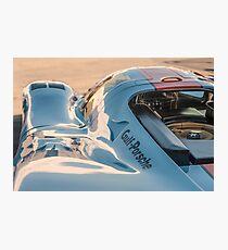1969 Gulf Porsche 917, chassis 017/004: aero details Photographic Print