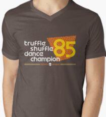 Dance Champ T-Shirt mit V-Ausschnitt für Männer