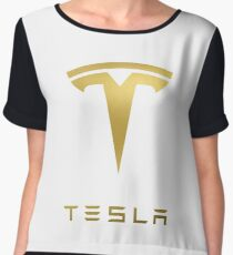 TESLA Women's Chiffon Top