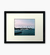 Long Island Framed Print