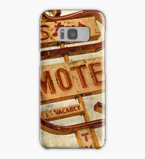 Vintage Star Motel Sign Samsung Galaxy Case/Skin