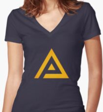 adrian Women's Fitted V-Neck T-Shirt
