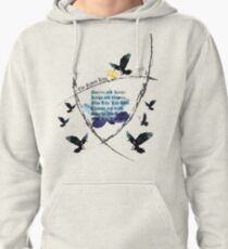 The Raven Cycle- Blue Lily, Lily Blue Pullover Hoodie