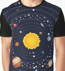 Planets of Solar System 2 Graphic T-Shirt