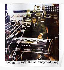 William Onyeabor Poster