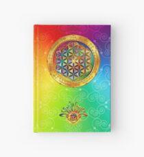 The Flower of Life Hardcover Journal