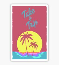 Take A Trip Sticker