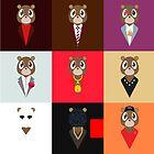 Bear Kanye by joeblackz