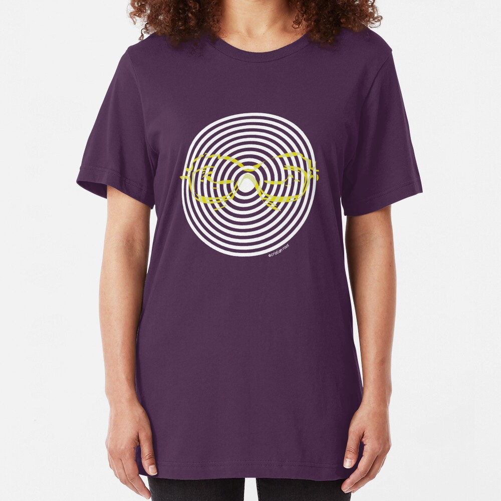 Mind Control with Hypno-gaze Slim Fit T-Shirt