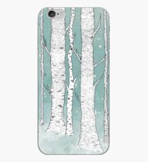 Birch Forest iPhone Case