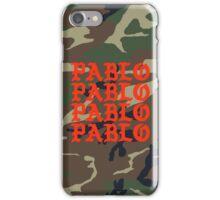 Kanye West Pablo Camo iPhone Case/Skin