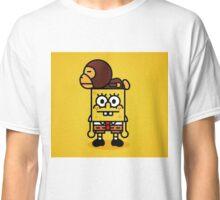 Spongebob x BAPE Milo  Classic T-Shirt