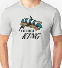 Eat Like a King (Light) Unisex T-Shirt