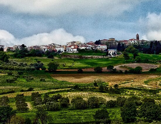 Italian Countryside  by Anthony Giampaolo