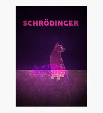 Schrodinger's Cat Photographic Print