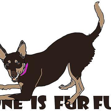 ONE IS FUR FUN by Adrienne1313