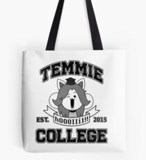 Temmie College Tote Bag