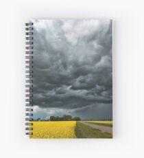Prairie Rain Spiral Notebook