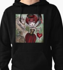 Dragon Lady - Graveyard Grenda & Dragon Pullover Hoodie