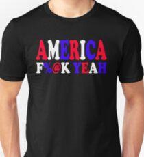 America F%@ Yeah - Team America Unisex T-Shirt
