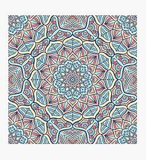 Kaleidoscope mandala Photographic Print