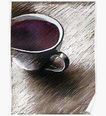 Flieder - Kaffee Poster