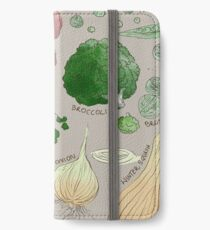 Winter Vegetables iPhone Wallet/Case/Skin