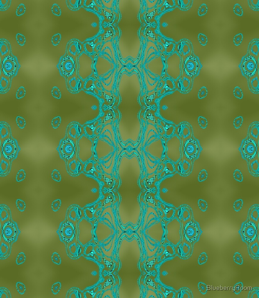 Turquoise lace by BlueberryRoom