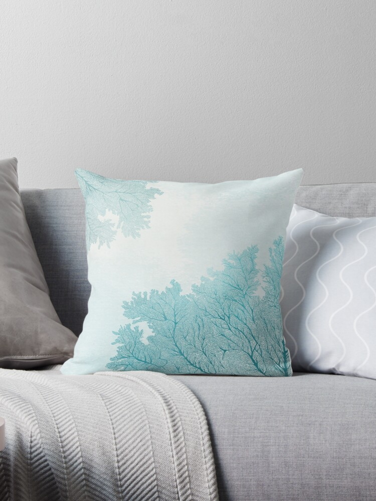 Small Coral Throw Pillows :