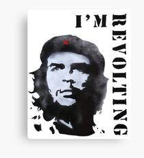 REVOLTING Canvas Print
