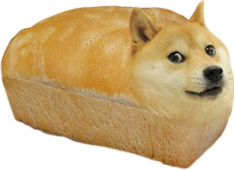 Doge Bread Stickers Redbubble