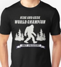 Hide and Seek World Champion Dark Tee Unisex T-Shirt