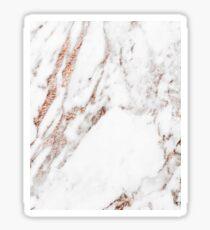 Rose gold vein marble Sticker