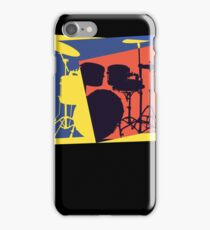 Drum Set Pop Art iPhone Case/Skin