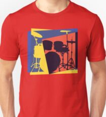 Drum Set Pop Art T-Shirt