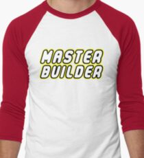 MASTER BUILDER Men's Baseball ¾ T-Shirt