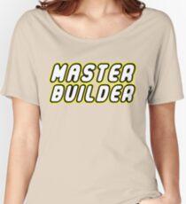 MASTER BUILDER Women's Relaxed Fit T-Shirt