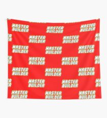 MASTER BUILDER Wall Tapestry