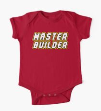 MASTER BUILDER One Piece - Short Sleeve