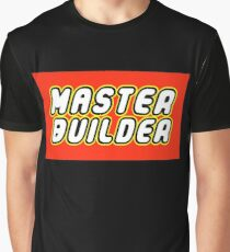 MASTER BUILDER Graphic T-Shirt