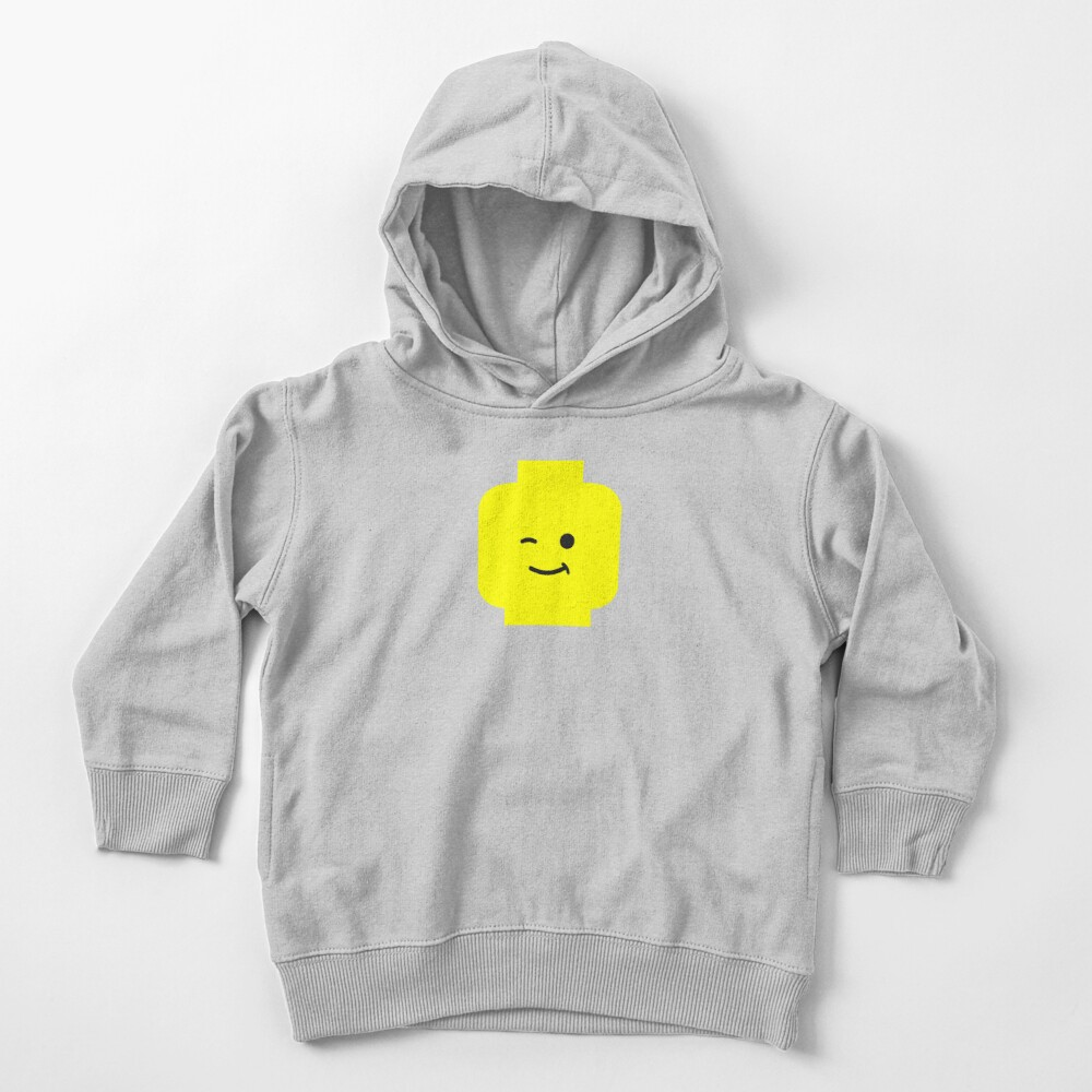 Minifig Winking Head  Toddler Pullover Hoodie