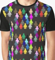United Colors of Minifig [Large]  Graphic T-Shirt
