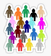 United Colors of Minifig [Large]  Sticker