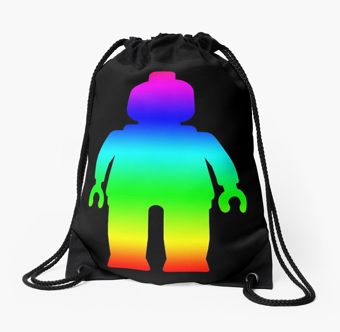 Minifig [Large Rainbow 1]  by Customize My Minifig