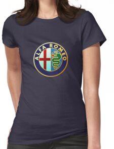 Alfa Romeo Merchandise Womens Fitted T-Shirt