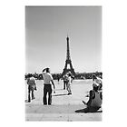 Paris. Eiffel Tower. Film Camera Photography ® by creative-bubble