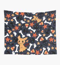 Mimikyu's Spooky Halloween! Wall Tapestry