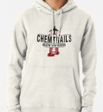 Jet Chemtrails Red & Grey Logo Hoodie