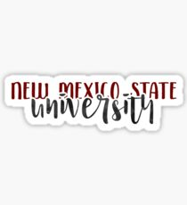 New Mexico State University - Style 1 Sticker