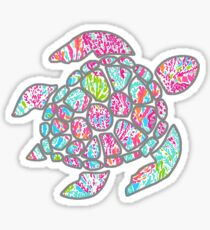 Sea Turtle- Lilly P Sticker